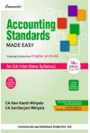 Accounting Standards Made Easy (Covering Introductory Chapter on Ind AS, CA Inter, New Syllabus)
