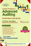 Students Handbook on Advanced Auditing Including MCQ's - For CA Final New Syllabus