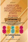Advanced Auditing and Professional Ethics - For (CA Final - New Syllabus) (Applicable for November 2021 Exam)