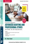 Comprehensive Approach to Advanced Auditing and Professional Ethics - (For CA Final - Nov 2021 & May 2022 Exams) - 2 volume  Set