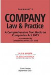 Company Law & Practice (Comprehensive Text Book on Companies Act 2013)