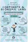 A Textbook on Corporate and Economic Laws - (For CA Final, New Syllabus, applicable for Nov. 2021 Exams)