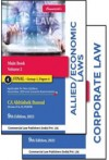 Corporate Law, Allied/Economic Laws - Main Book (Set of 2 Vols) (CA Final) (Applicable for New Syllabus Nov. 2021 and Onward Exams)