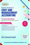 Students' Handbook on Cost and Management Accounting (For CA Inter New Syllabus) Applicable for Nov. 2021 and Onwards Examination