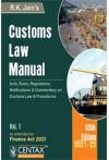 Customs Law Manual - 2021-22 [2 Volume Set]