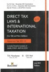 Direct Tax Laws and International Taxation - For (CA Final, Old and New Syllabus) Assessment Year 2021-22 - Includes Detailed Analysis of GAAR, POEM, BEPS and ICDS