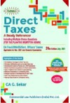 Direct Taxes - A Ready Referencer - Including MCQs (CA Final/CMA/CS/Govt Officers' Exams, For Nov. 2021 Exams)