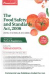 The Food Safety and Standards Act, 2006 (Act No. 34 of 2006, dt. 23-8-2006) Alongwith Rules and Regulations