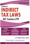 Indirect Tax Laws (GST, Customs and FTP, for CA Final May 2021, old & new scheme)