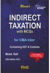 Indirect Taxation with MCQs Containing Service Tax and Customs [for CMA Inter]