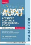 Main Book - Advanced Auditing and Professional Ethics - (CA Final, Group 1, Paper 3) [For Nov. 2021 Exams]