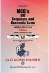 MCQ's on Corporate and Economic Laws (For CA Final - New Syllabus) Applicable for Nov. 2021 Exams
