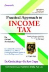 Practical Approach to Income Tax - [For Old and New Syllabus] (Problems & Solutions with MCQs, True & False Questions & Fill in the Blanks)