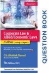 Question Book - Corporate Law and Allied/Economic Laws - CA Final (Applicable for New Syllabus November, 2021 and Onwards Examinations)