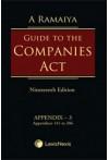 A Ramaiya Guide to the Companies Act (Box 2) (4 Parts Set)