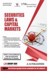 Securities laws and Capital Markets - (CS Executive, New Course)