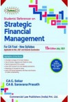 Students Referencer on Strategic Financial Management (For CA Final New Syllabus) Applicable for November 2021 and Onwards Examination