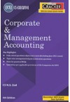 Taxmann's Cracker - Corporate and Management Accounting  (CS Executive - New Syllabus, For Dec. 2021 Exams)