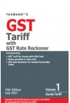 Taxmann's GST Tariff with GST Rate Reckoner (Set  of Two Volumes)