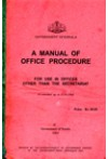 A Manual of Office Procedure