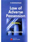 M. Krishnaswami's Law of Adverse Possession