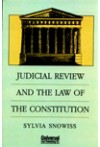 Judicial Review and the Law of the Constitution