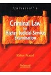 Criminal Law for Higher Judicial Service Examination