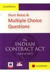 Short Notes & Multiple Choice Questions - Indian Contract Act
