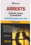 Arrests Inspection, Enquiry and Investigation under the Companies Act, 2013