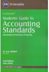 Students' Guide to Accounting Standards - Including Introduction of Ind AS [As Per New Syllabus]