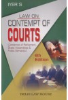 Law on Contempt of Courts (Contempt of Parliament, State Assemblies &  Public Servants)
