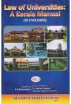Law of Universities: A Kerala Manual (Volume III)