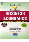 Lawpoint's CS Solutions - BUSINESS ECONOMICS - CS Foundation Programme - Paper 3 (More than 3,000 MCQs with Answers) (10 Model Test Papers for Practice)