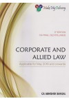 CORPORATE AND ALLIED LAWS (For CA Final, Old Syllabus) Applicable for May 2018 and onwards