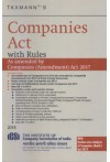 Companies Act with Rules - As amended by Companies (Amendment) Act 2017 [With Section-wise Analysis of Companies (Amdt.) Act 2017] (Pocket Edn - Paperback)