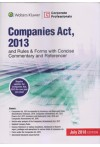 Companies Act, 2013 and Rules and Forms with Concise Commentary and Referencer (Regular updates for Companies Act, 2013 for one year via email)