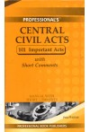 Central Civil Acts - 101 Important Acts  (With Short Comments)(Pocket Edition)