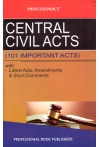 Central Civil Acts [101 Important Acts] with Latest  Acts, A,mendments and Short Comments