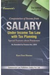 Computation of Income from Salary under Income Tax Law with Tax Planning (Special Features about pensioners) (As Amended by Finance Act, 2018)