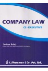 Company Law - CS Executive (For CS (Executive),CA, CMA, LLB, MBA and Other Courses)