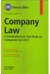 Taxmann's Company Law - A Comprehensive Text Book on Companies Act 2013 (University Edition)