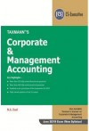 Corporate and Management Accounting (CS-Executive - New Syllabus for June 2019 Exam)