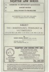 The Criminology, Penology and Victimology [For LL.B., B.A. LL.B., B.B.A. LL.B., B.com LL.B., B.Sc. LL.B. Etc.]