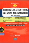 Lawpoint's CS Solutions - Corporate Restructuring, Valuation and Insolvency (With Theory Notes) (For CS Professional Programme Module 1 Paper 3) (Last 30 Terms Papers Solved) (Including June 2018 Question Paper Solved)