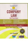 Lawpoint's CS Solutions - COMPANY LAW with Theory Notes - CS Executive Programme  (Module 1 - Paper 1) (Last 31 Terms Papers fully solved) (Including December 2017 Question Paper)