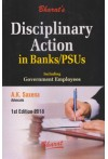 Disciplinary Action in Banks/PSUs [Including Government Employees]