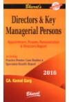 Directors and Key Managerial Persons (Appoinment Powers, Remuneration and Director's Report)