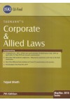 Corporate and Allied Laws (For C.A Final May/Nov. 2018 Exams)