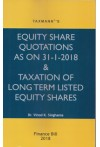 Equity Share Quotations As on 31-01-2018 and Taxation of Long Term Listed Equity shares (Finance Bill 2018)