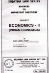 The Economics - II (Indian Economics)